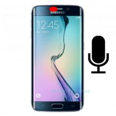 Galaxy S6 Edge byte av mic för brusreducering