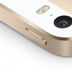 iPhone SE Power knapp