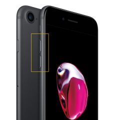 iPhone 7 / 7 plus Volymknappen