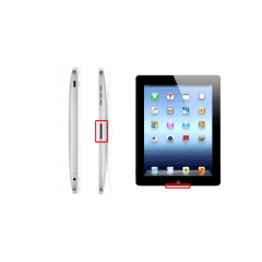 iPad 2, 3, eller 4 byte laddkontakt