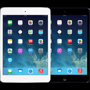 Glasbyte iPad mini & Retina