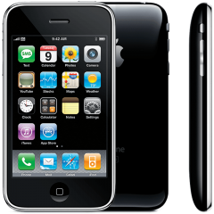 iPhone 3G/3GS glasbyte