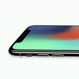 iPhone X Volymknappen